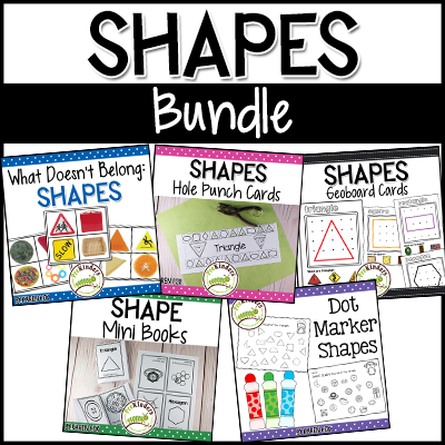 TPT Shapes Activities