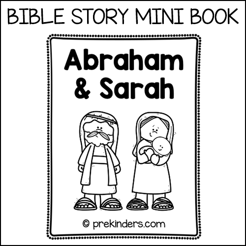 Abraham & Sarah Mini Book