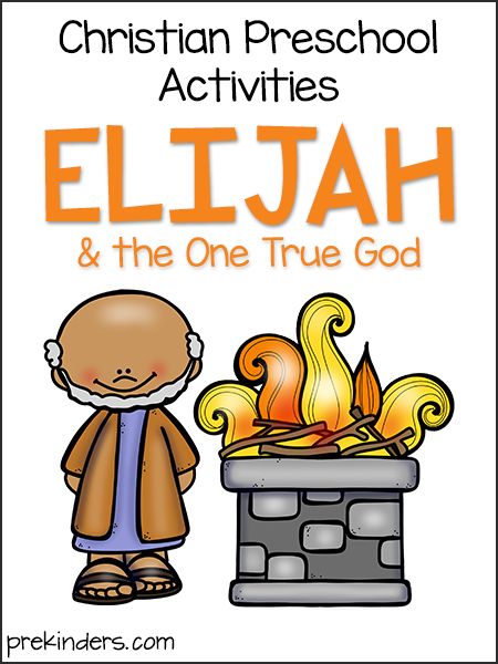 Elijah: Christian Preschool Activities