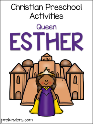 Esther: Christian Preschool Activities
